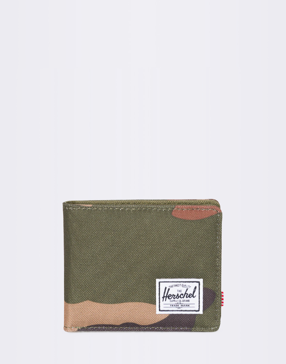 Peněženka Herschel Supply Roy + Coin RFID Woodland Camo + novinka