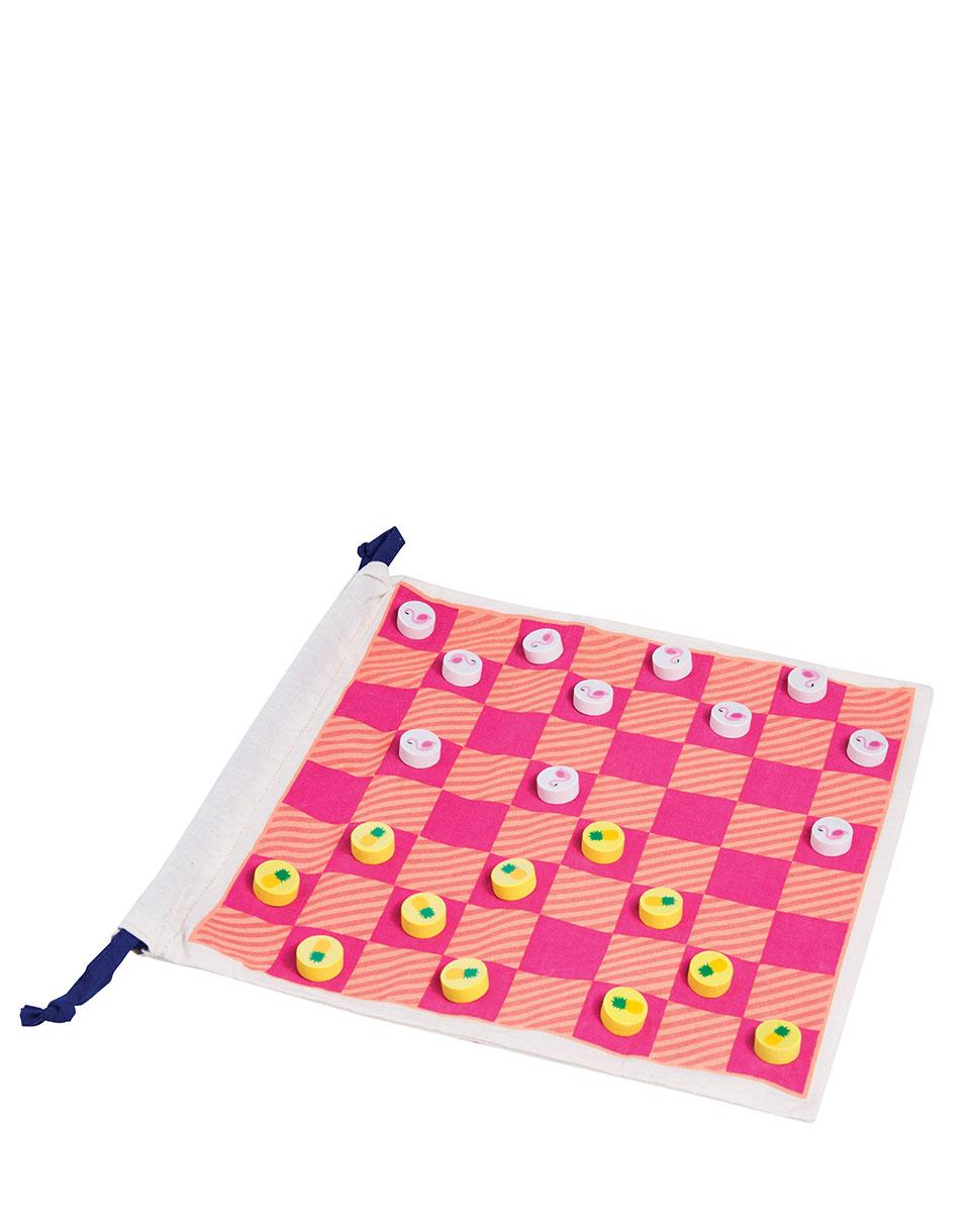 Cestování Sunnylife Travel Backgammon & Checkers Multi SU5BAKFP