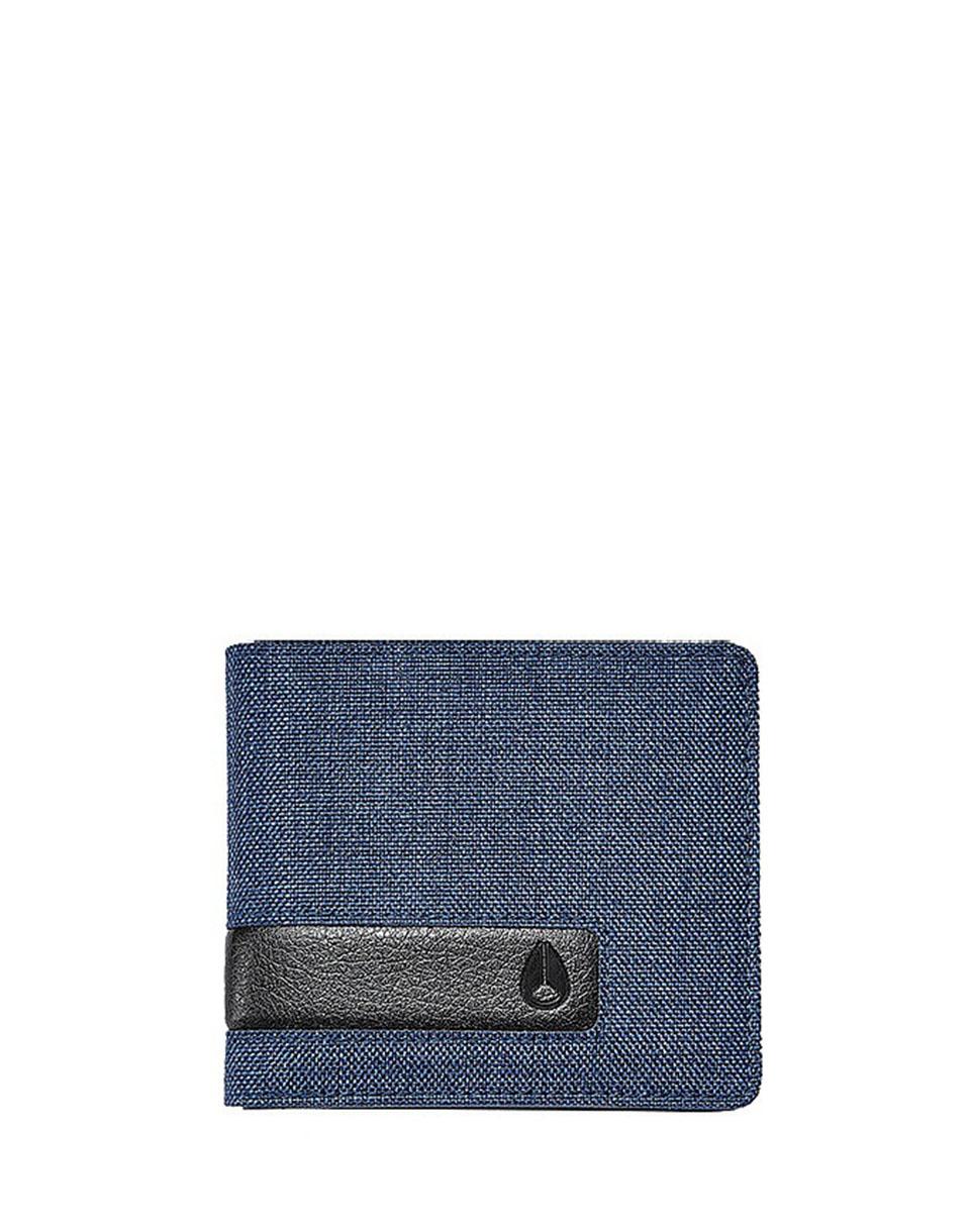 Peněženka Nixon Showdown Bi-Fold Zip Blue Wash + novinka