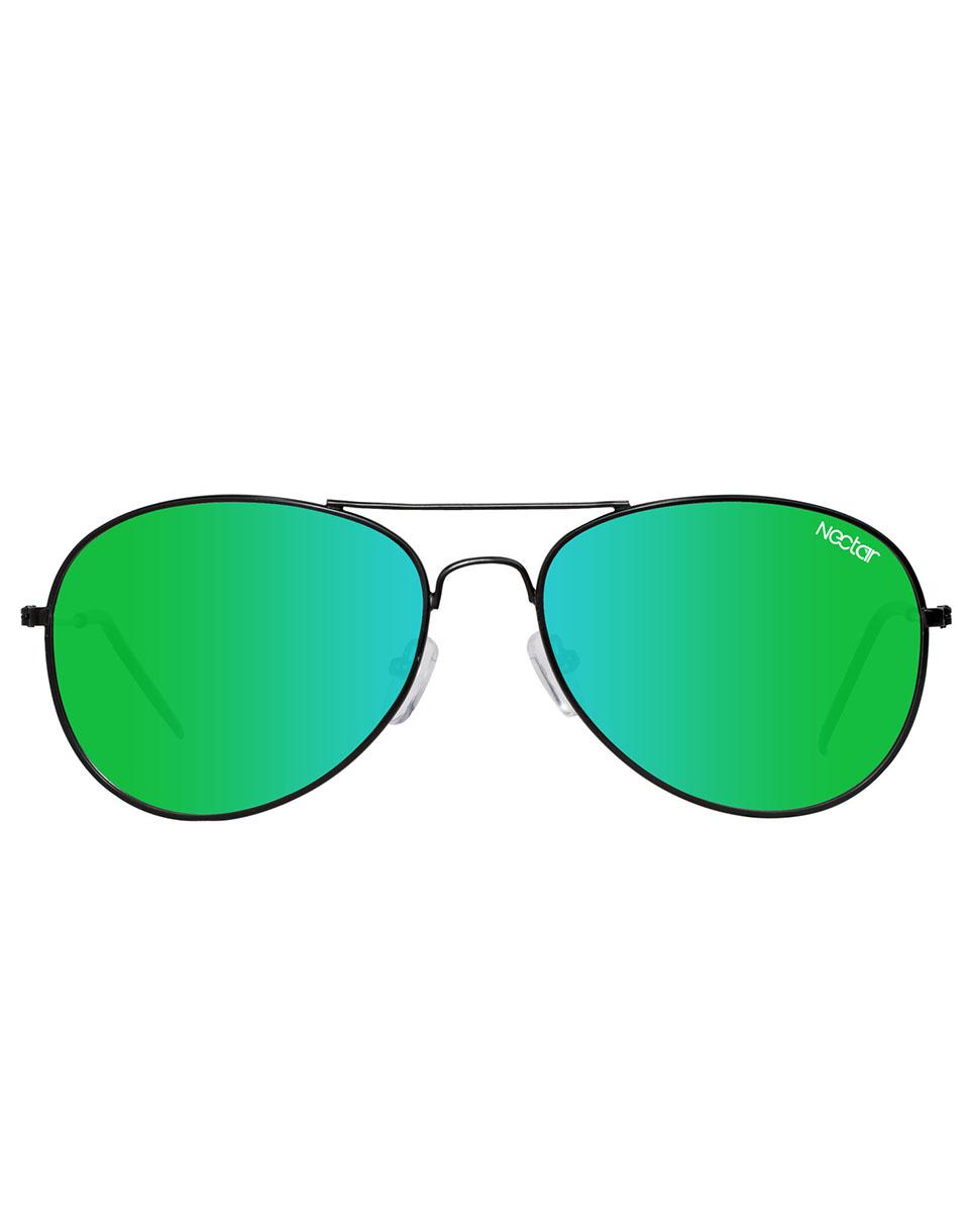 Sluneční brýle Nectar Baltic Polarized black blue/green