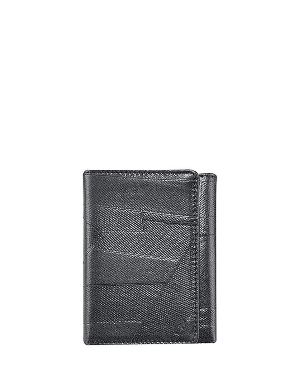 Peněženka Nixon Spindle Tri-Fold Wallet Black