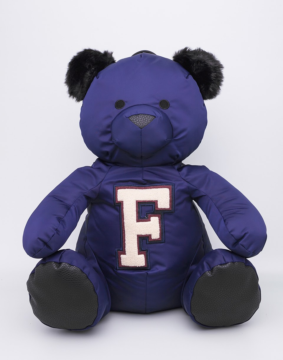 Batoh Puma Fenty Mascot Bear Evening Blue - Black + doprava zdarma