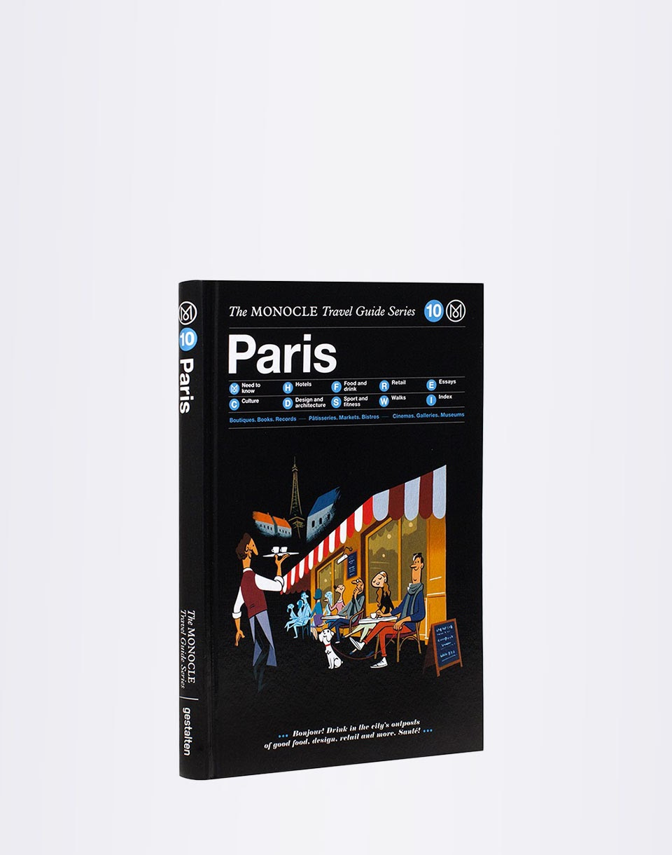 Gestalten Paris: The Monocle Travel Guide Series