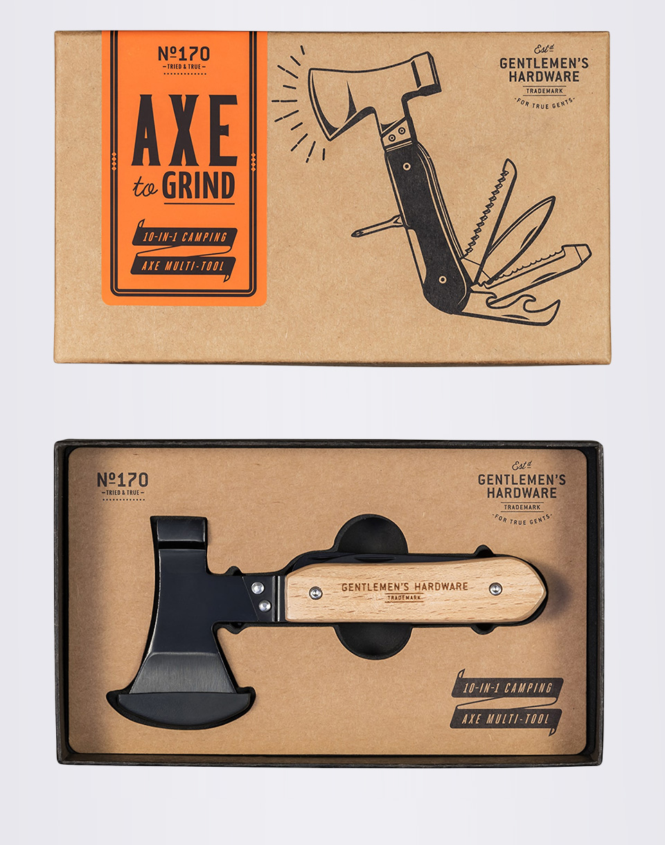 Nářadí W & W Axe Multi-Tool GEN170 + novinka