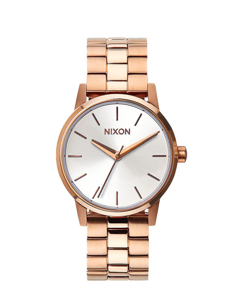 Nixon Small Kensington rose gold   white