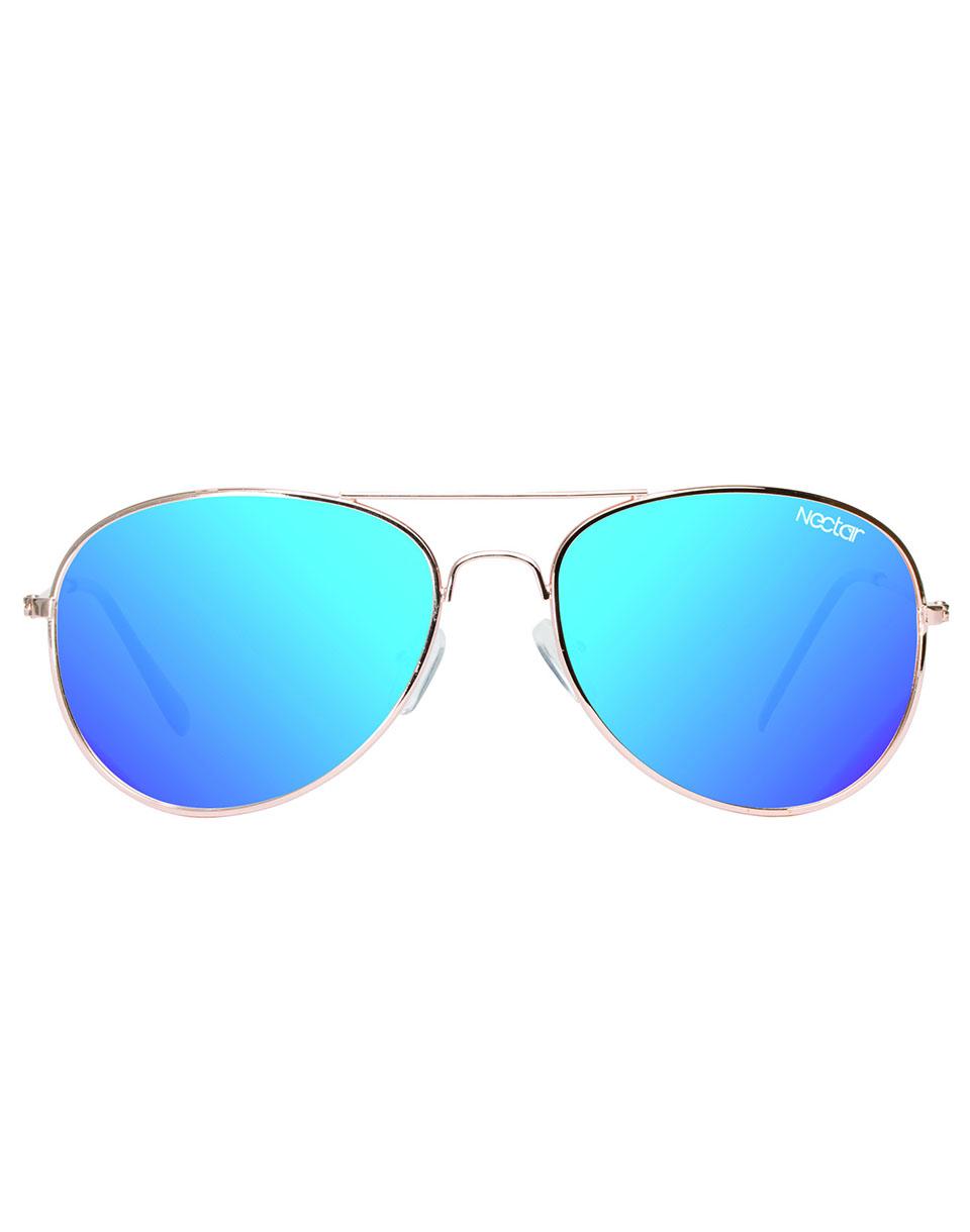 Sluneční brýle Nectar Apollo Polarized silver / blue