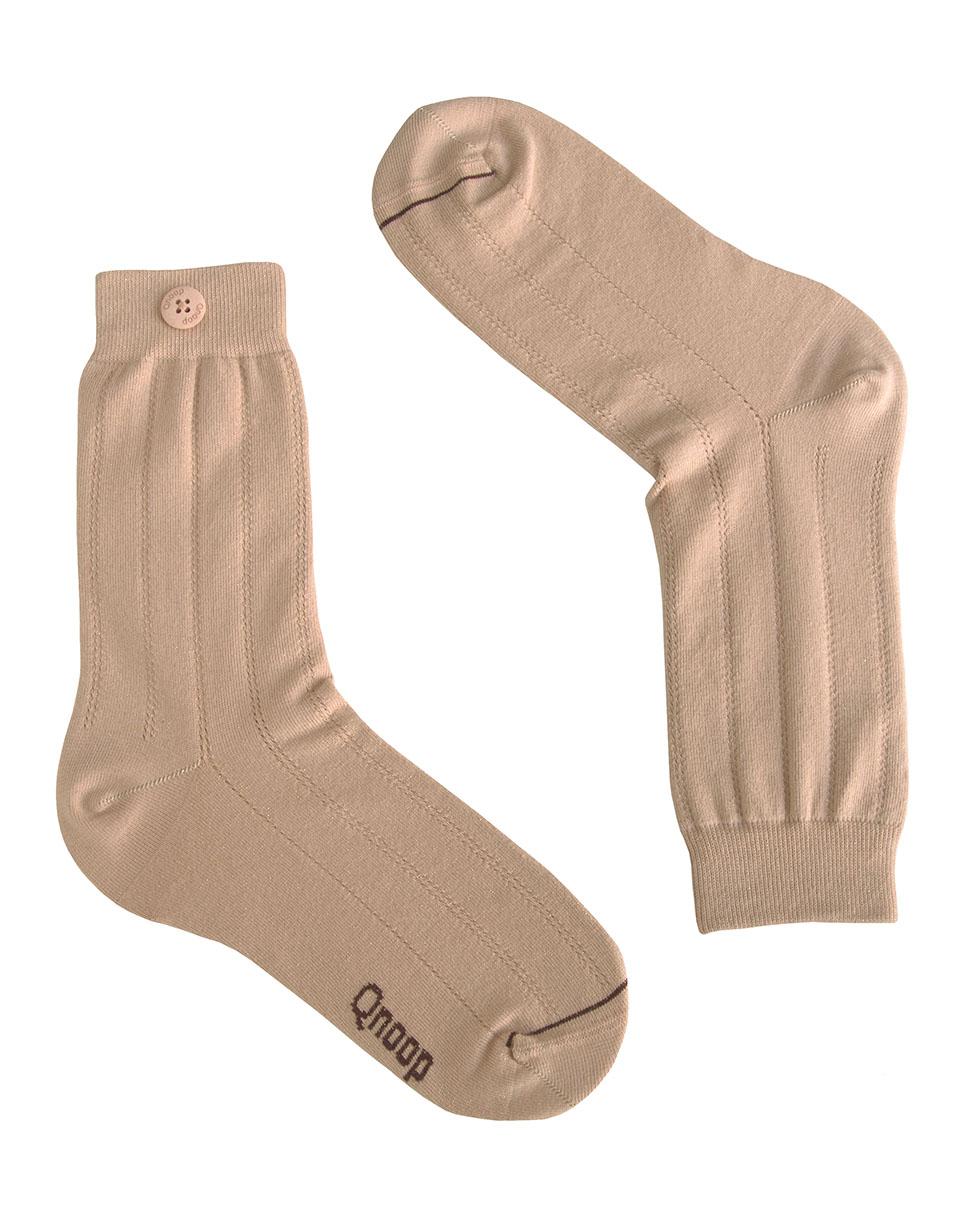 Ponožky Qnoop Lurex All Over Coral Pink 39-42