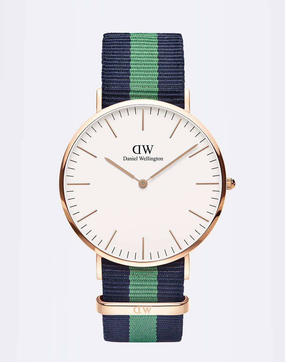 Daniel Wellington H24-678 Warwick Rose Gold