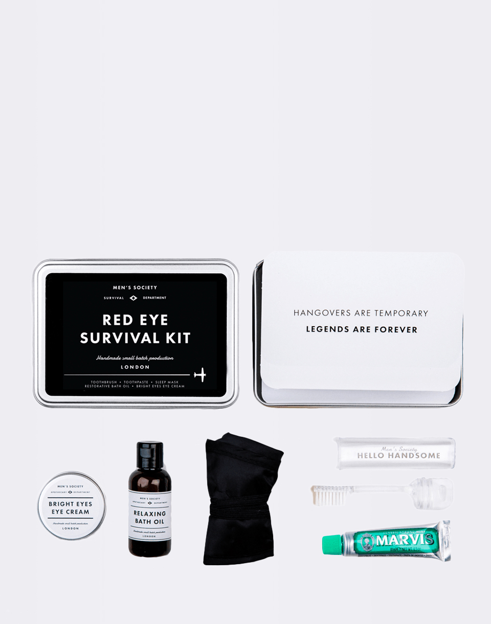 MEN S SOCIETY Red Eye Survival Kit