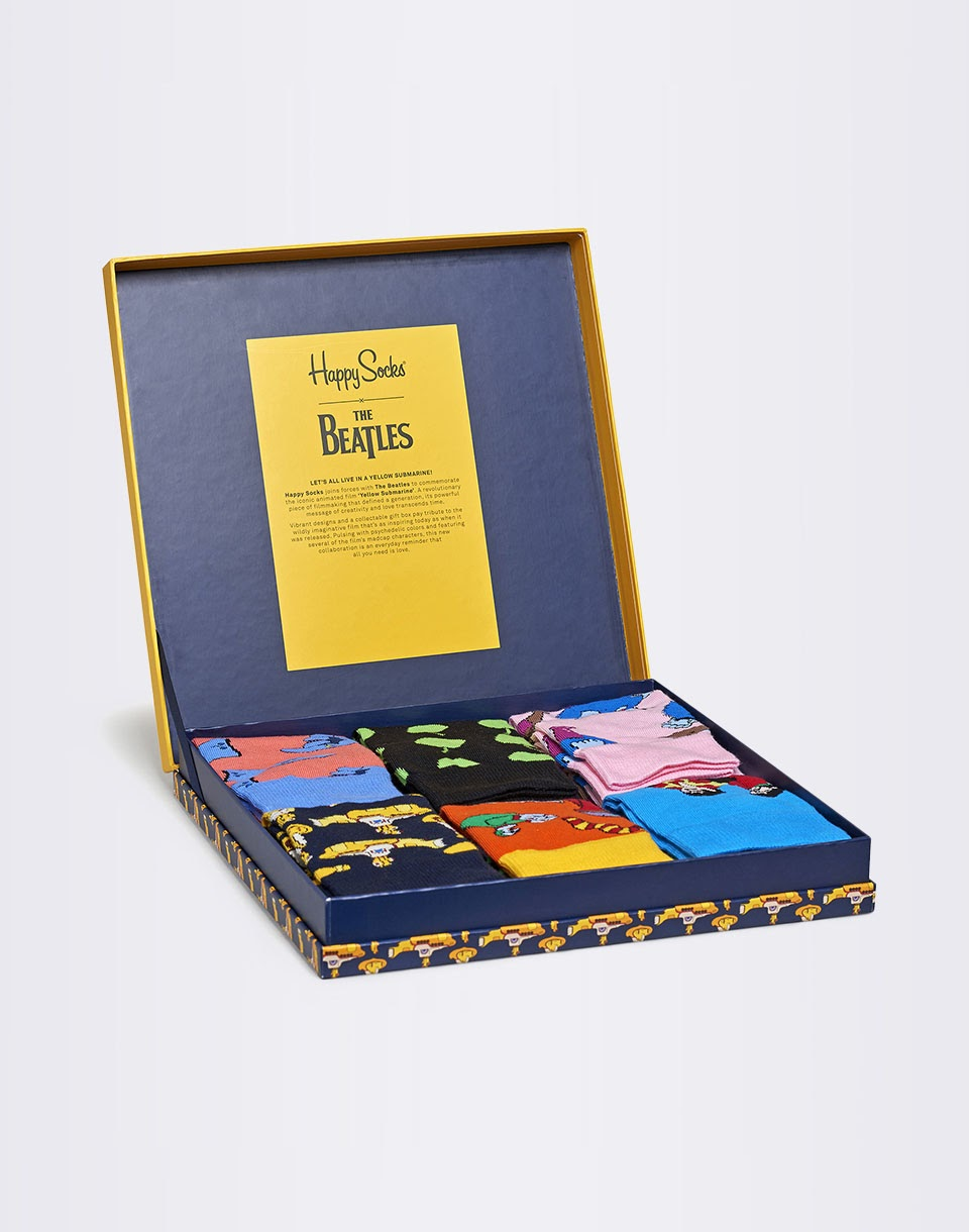 Happy Socks The Beatles Collector Box Set XBEA10 2000 41 46