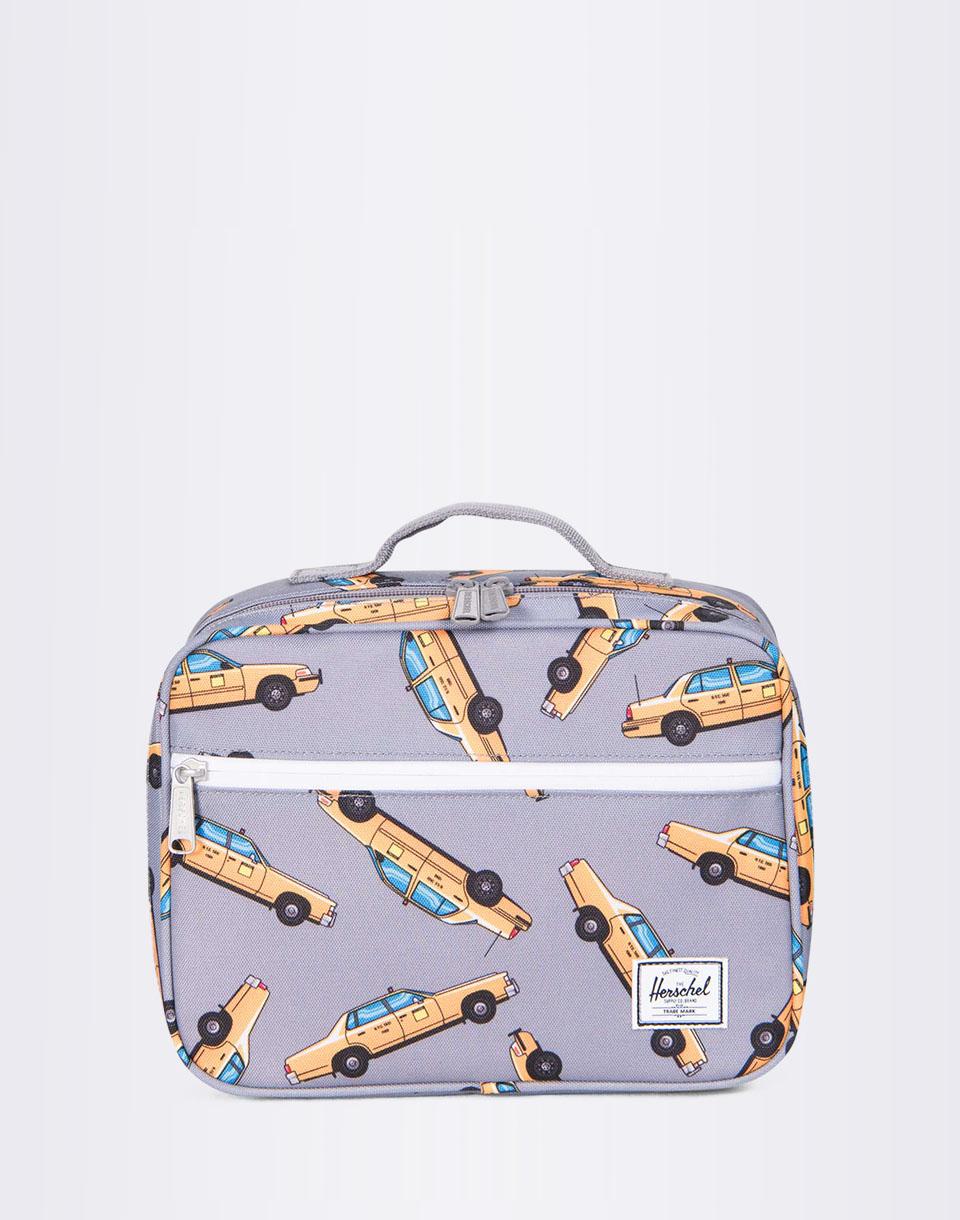 Herschel Supply Pop Quiz Lunchbox Grey Taxi