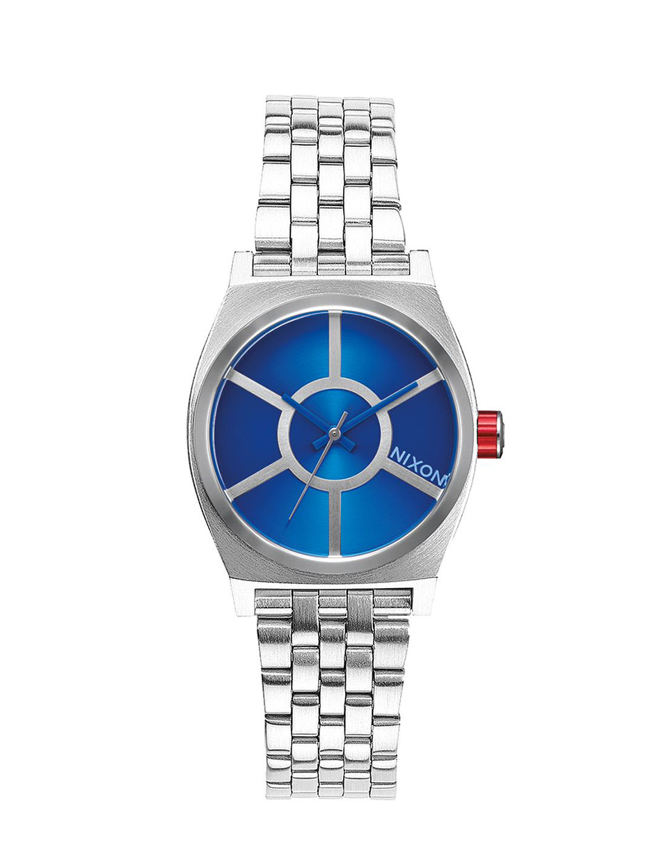 Hodinky Nixon Star Wars Small Time Teller R2D2 Blue + doprava zdarma