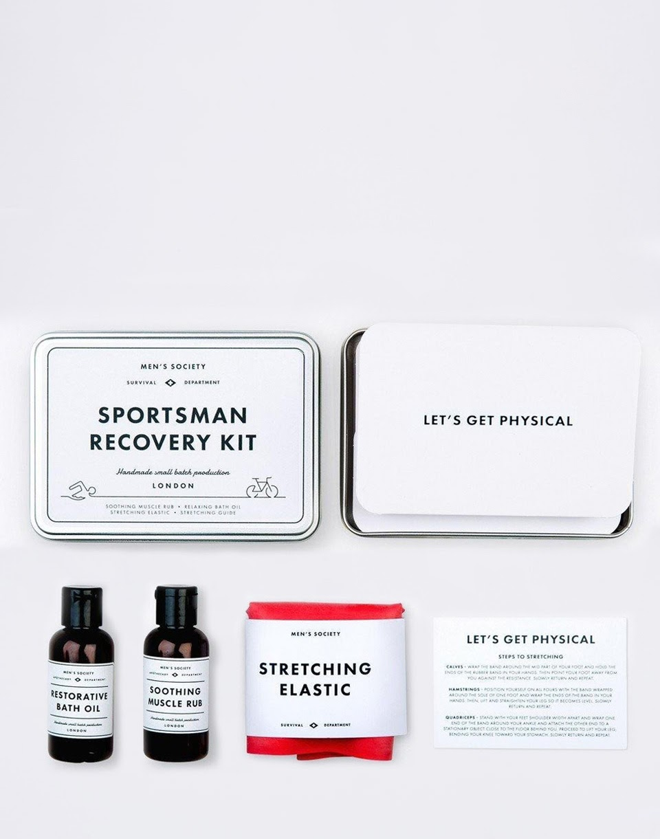MEN S SOCIETY Sportsman Recovery Kit