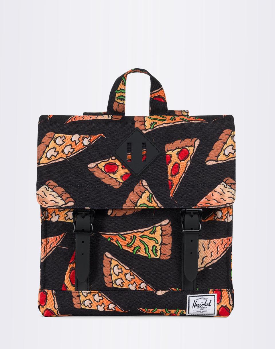 Batoh Herschel Supply Survey Kids Black Pizza