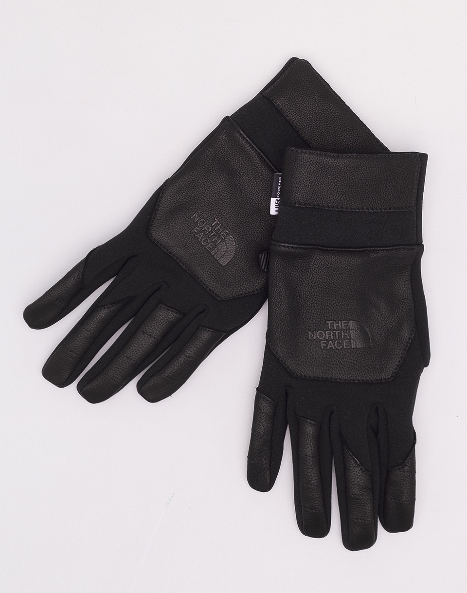 The North Face Etip Leather Glove TNF Black L
