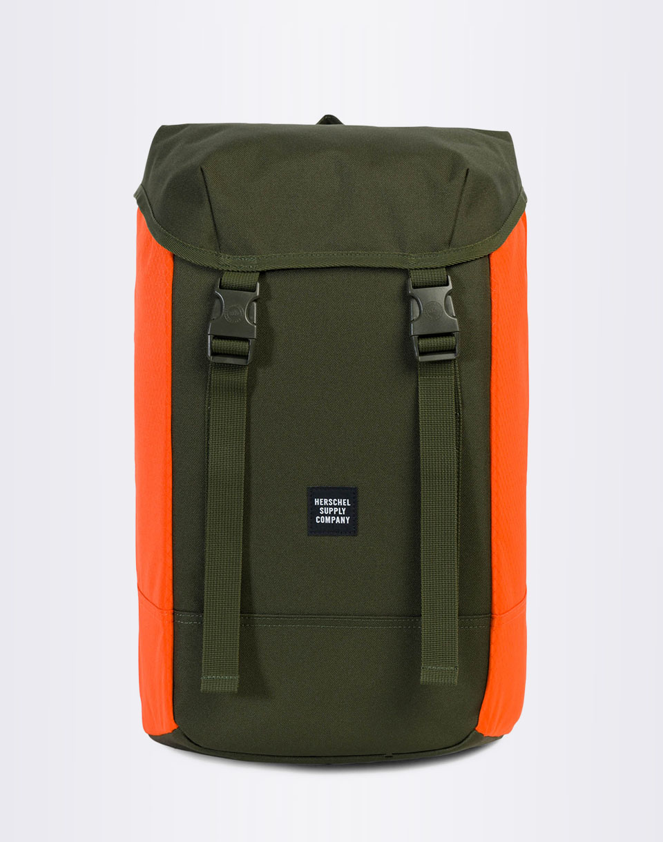 Herschel Supply Iona Forest Night   Vermillion Orange