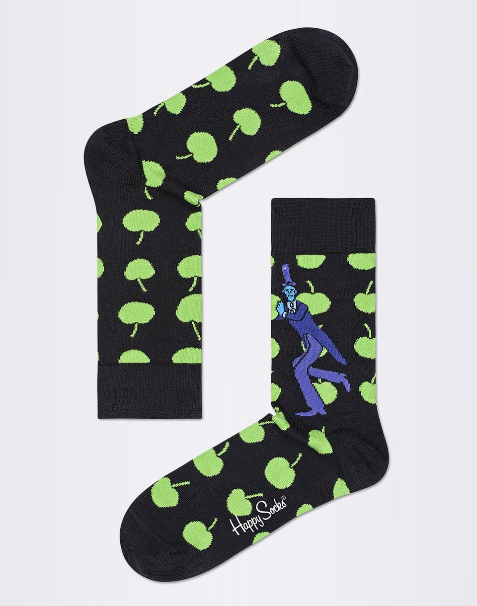Ponožky Happy Socks The Beatles Apples BEA01-9000 36-40
