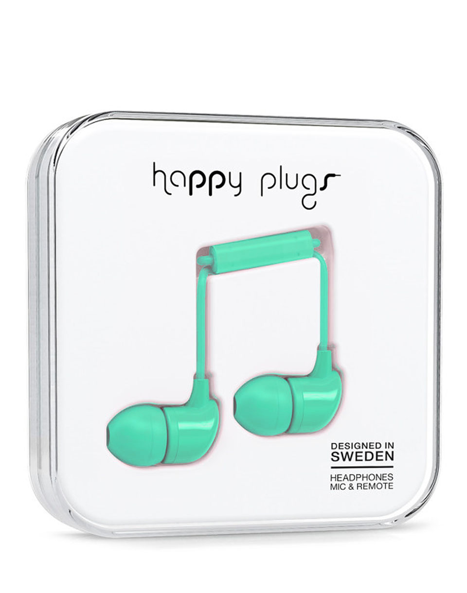 Sluchátka Happy Plugs In-Ear mint