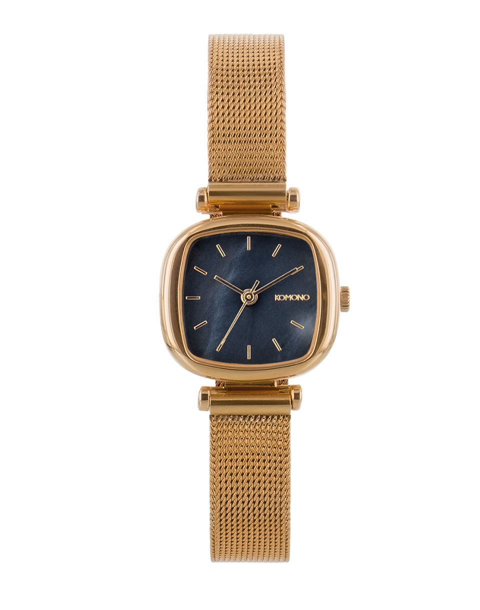 Hodinky Komono Moneypenny Royale Rose Gold Black