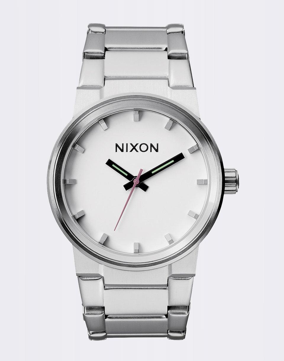 Hodinky Nixon Cannon WHITE + doprava zdarma