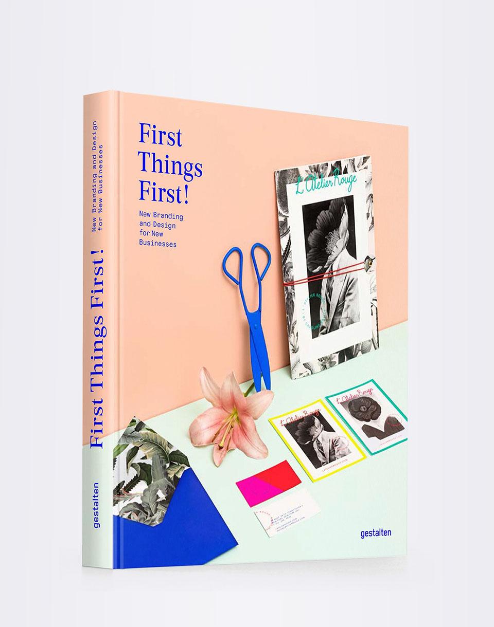 Knihy Gestalten First Things First! + novinka