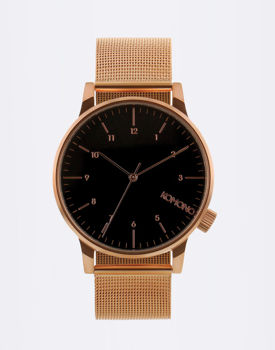 Komono Winston Royale Rose Gold - Black