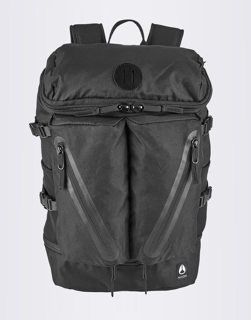 Batoh Nixon Scripps Backpack II All Black + novinka