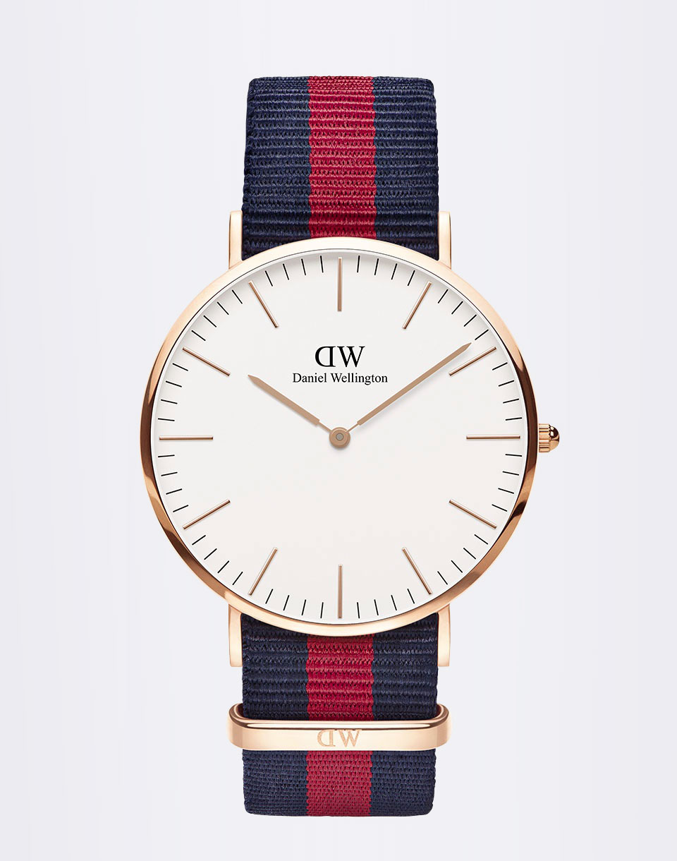 Daniel Wellington H24 229 Oxford Rose Gold