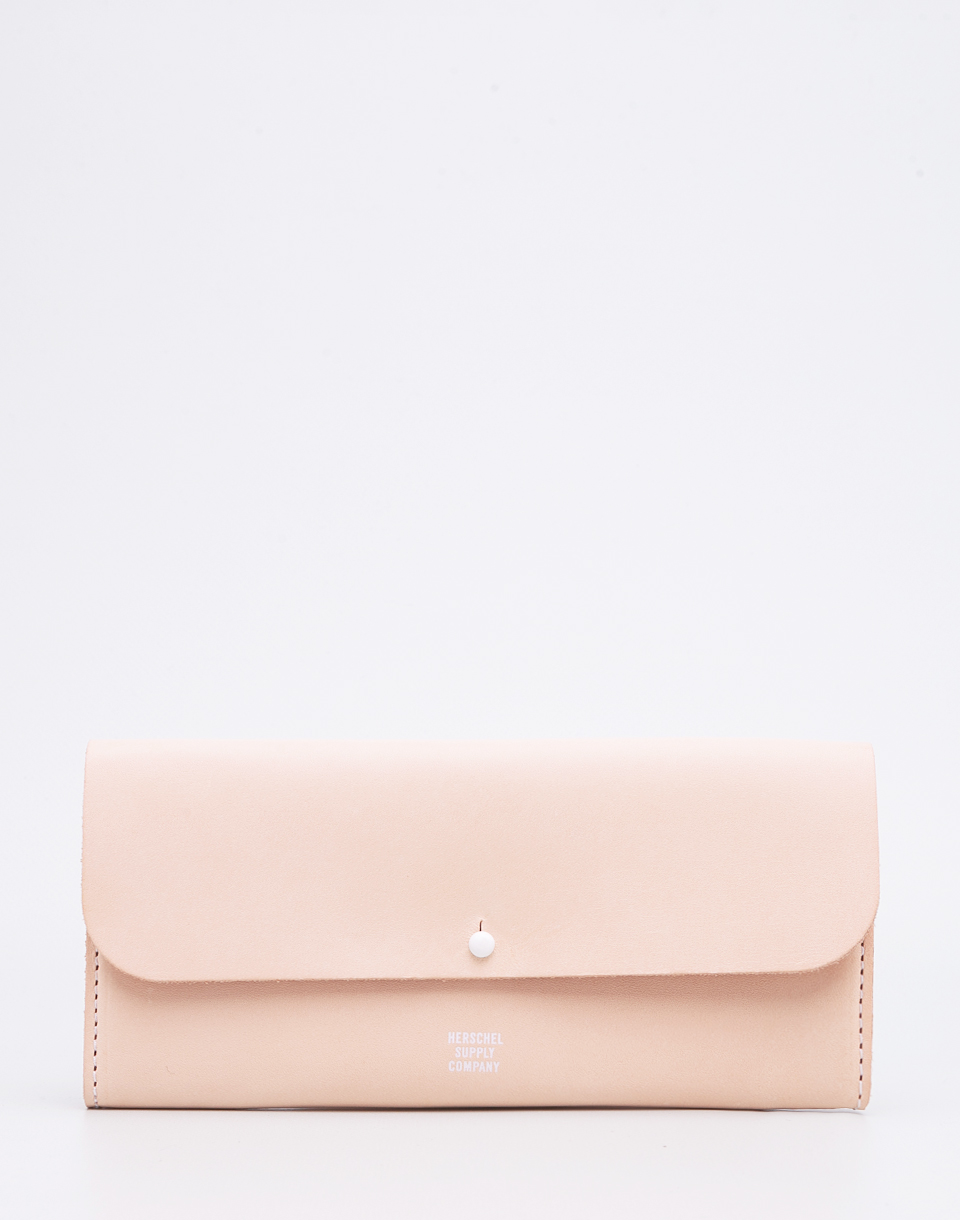 Herschel Supply Distance Natural Leather White