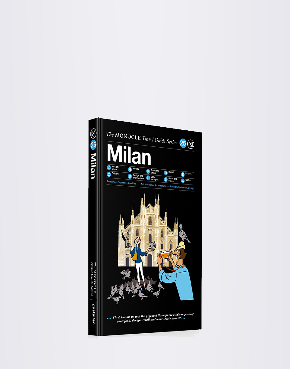 Gestalten Milan: The Monocle Travel Guide Series