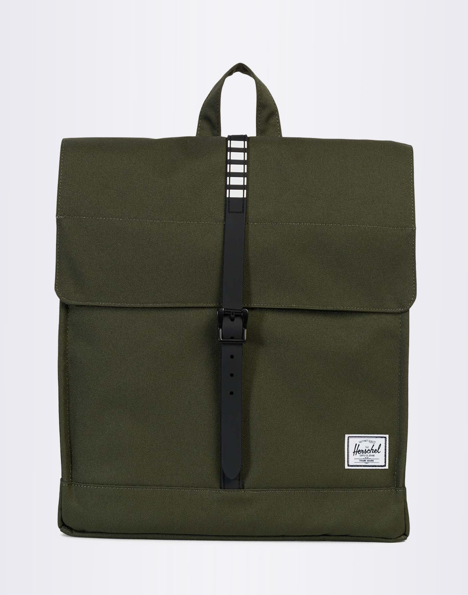Batoh Herschel Supply City Forest Night / Black Rubber / White Inset