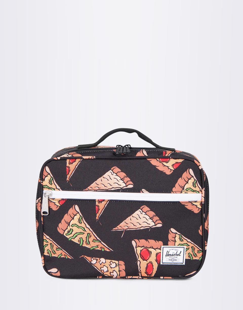 Herschel Supply Pop Quiz Lunchbox Black Pizza