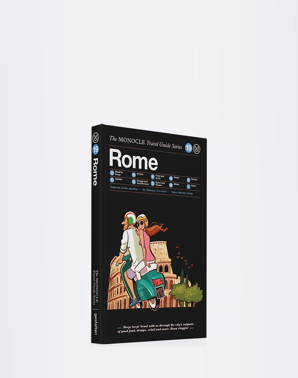Gestalten Rome: The Monocle Travel Guide Series