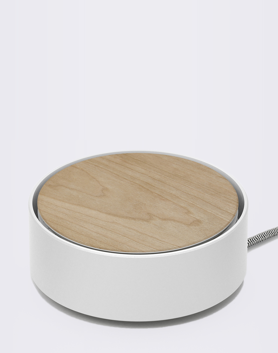Native Union Eclipse Charger Wood White