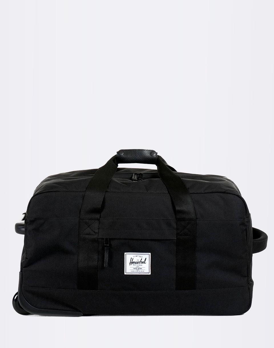 Kufr Herschel Supply Wheelie Outfitter Black + doprava zdarma