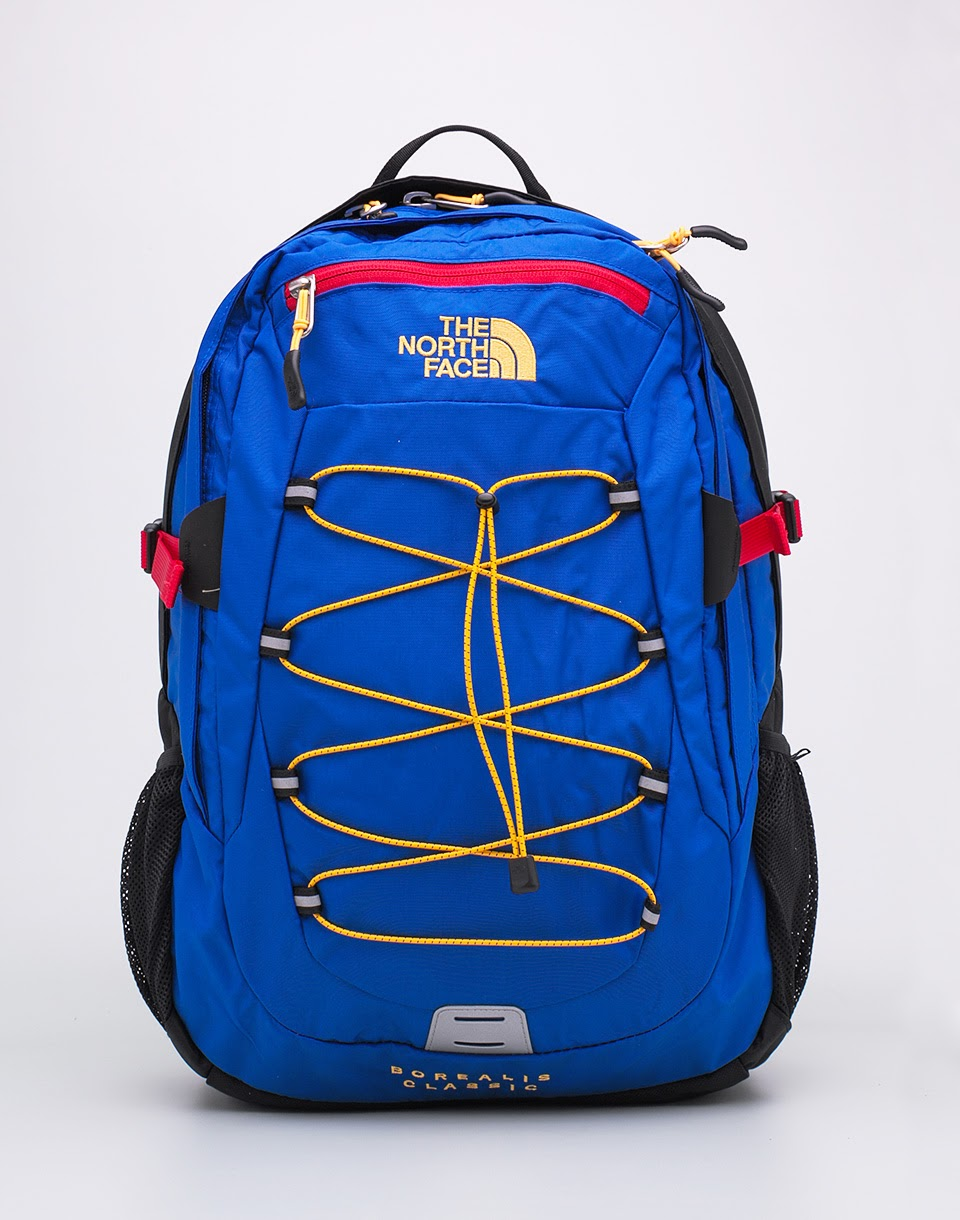 Batoh The North Face Borealis Classic Bright Coral Blue