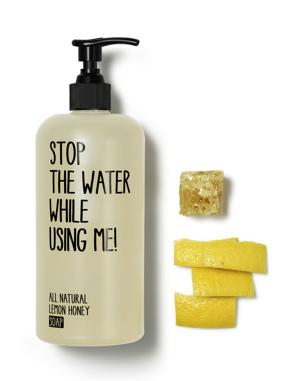 Kosmetika STOP THE WATER WHILE USING ME Lemon Honey Soap 200 ml