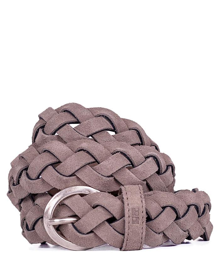 Pásek Loreak REDONDELA leather beige 85