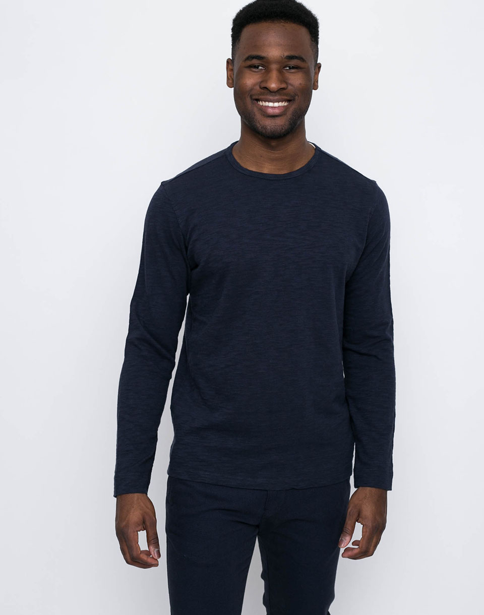 Knowledge Cotton Slope Sweat 1001 Total Eclipse M