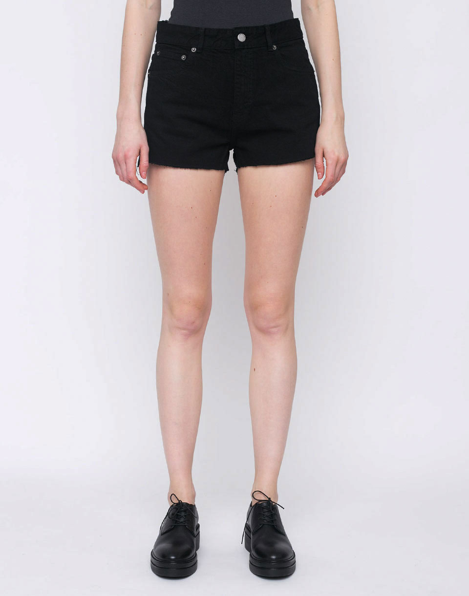 Dr  Denim Vega Shorts Black 27
