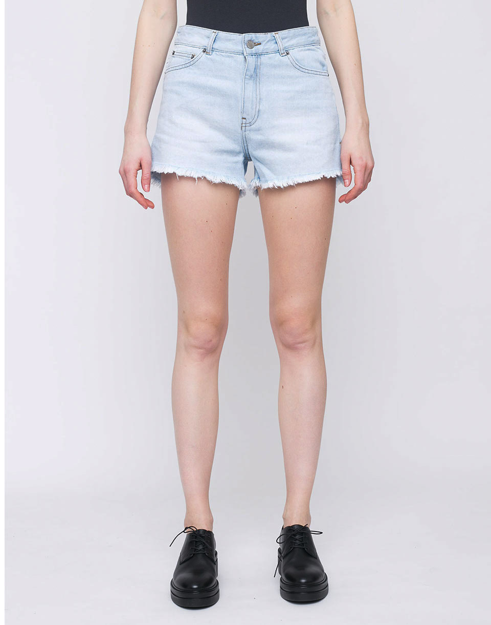 Dr  Denim Vega Shorts Light Indigo Wash 27