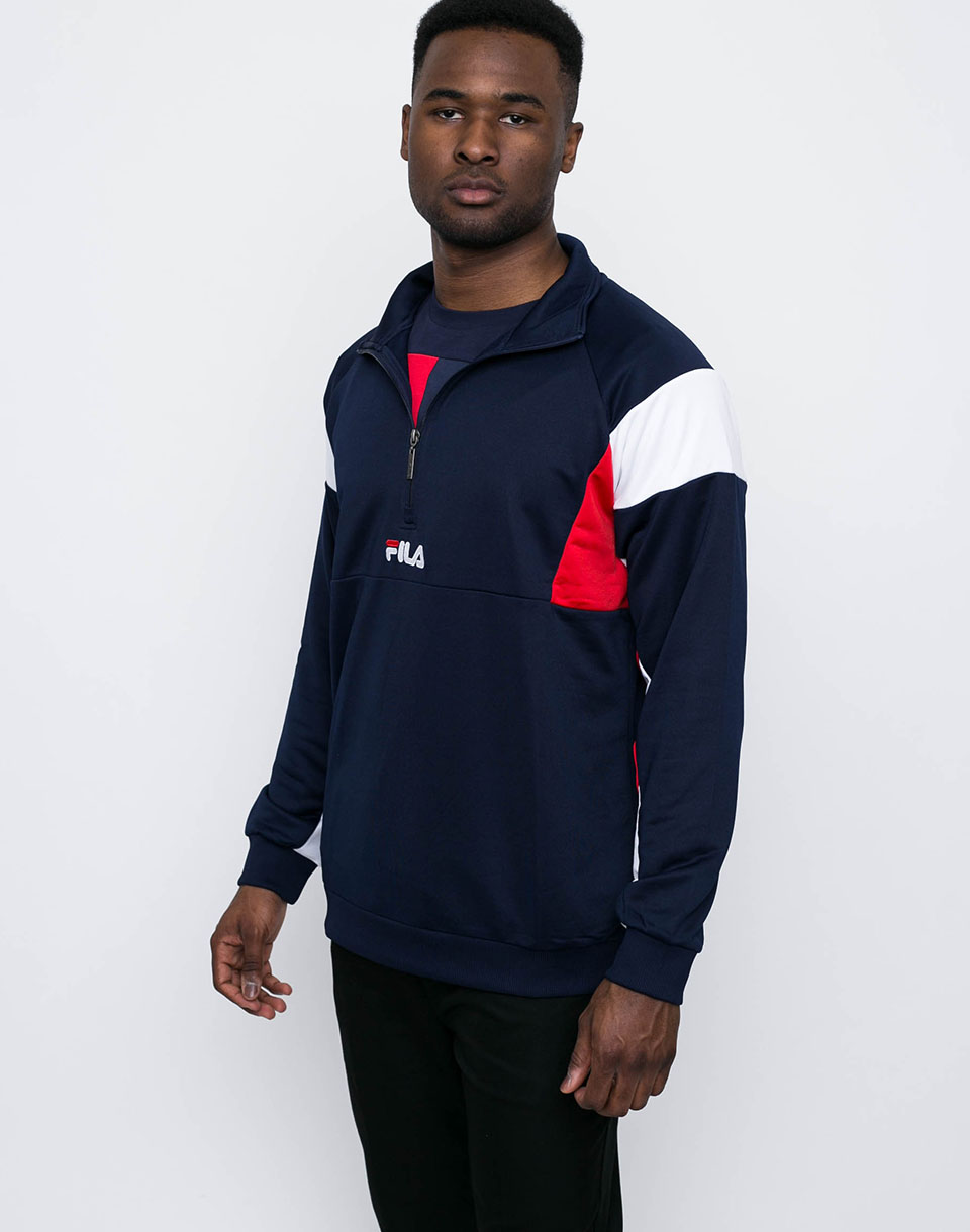 Fila Keith Peacoat-High Risk Red-Bright White L