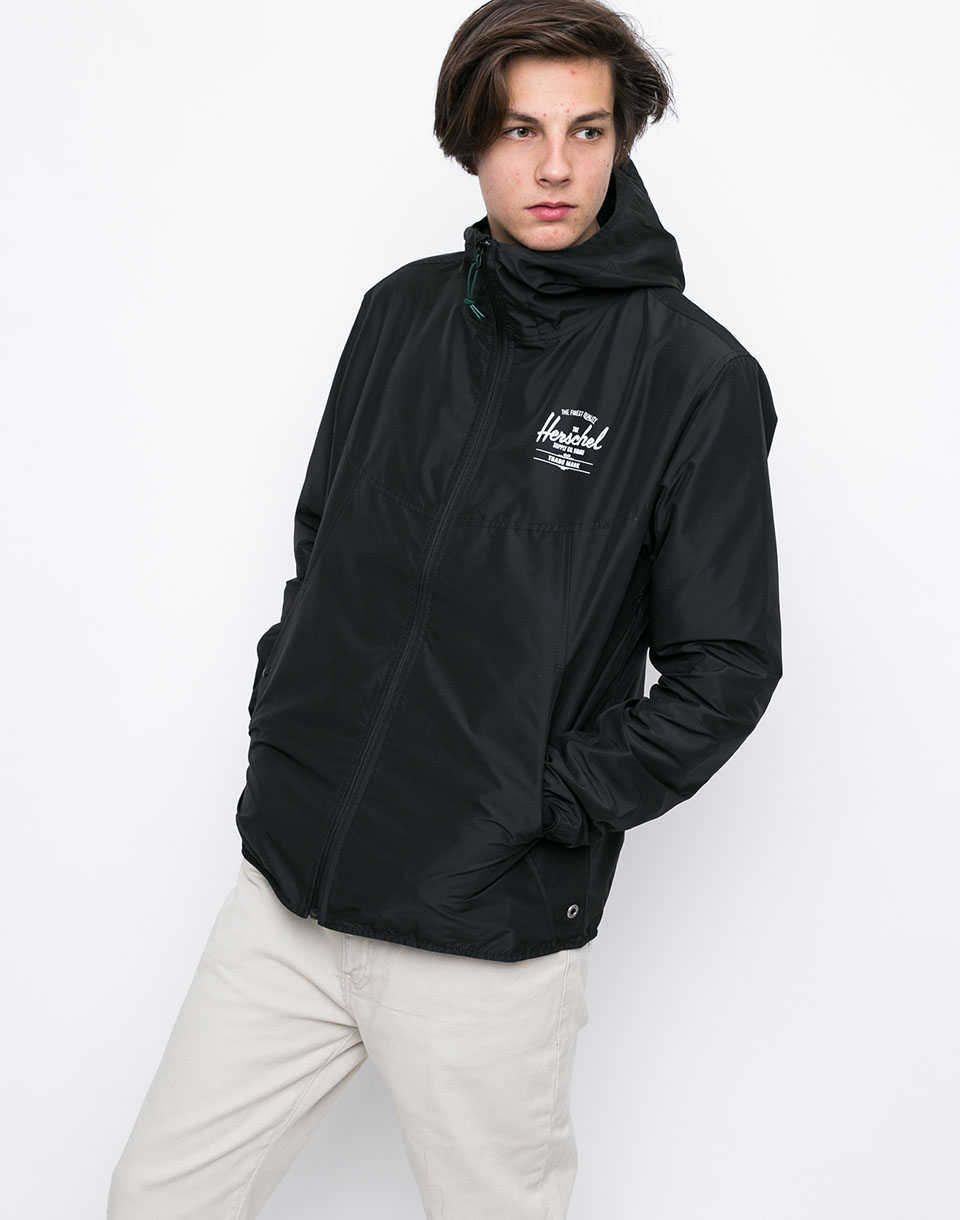 Herschel Supply Voyage Wind Black White Classic Logo L