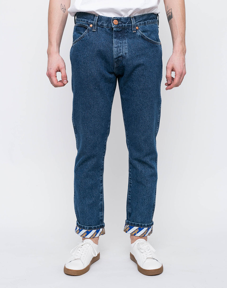Wrangler REGULAR TAPERED B Y B Y CRASH BLUE W32 L32