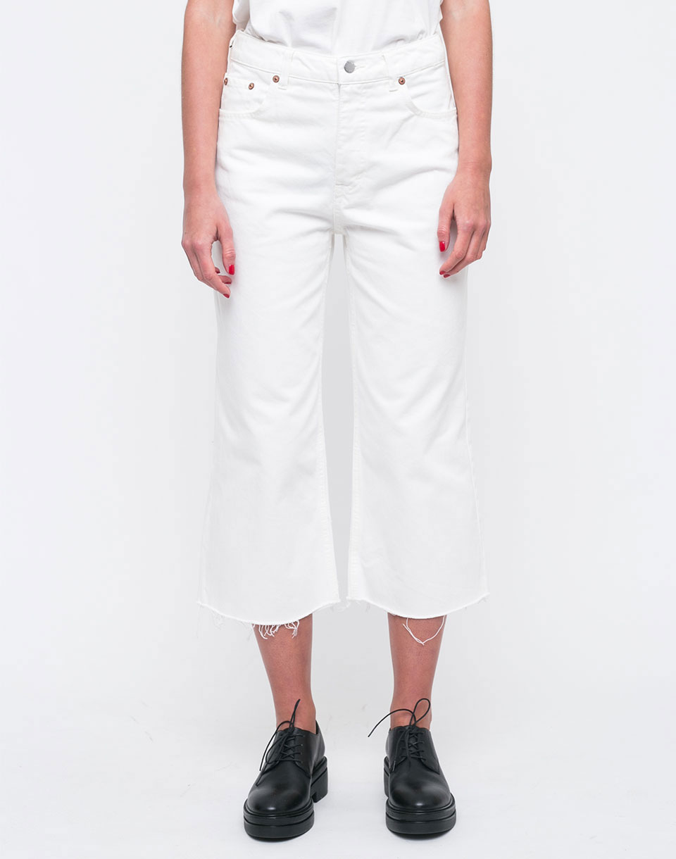 Cheap Monday Ally Blank White W28 L30
