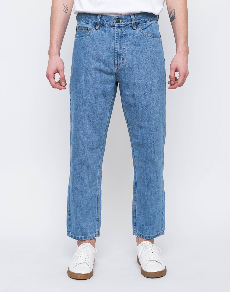 Obey BENDER 90 S DENIM Light Indigo 36