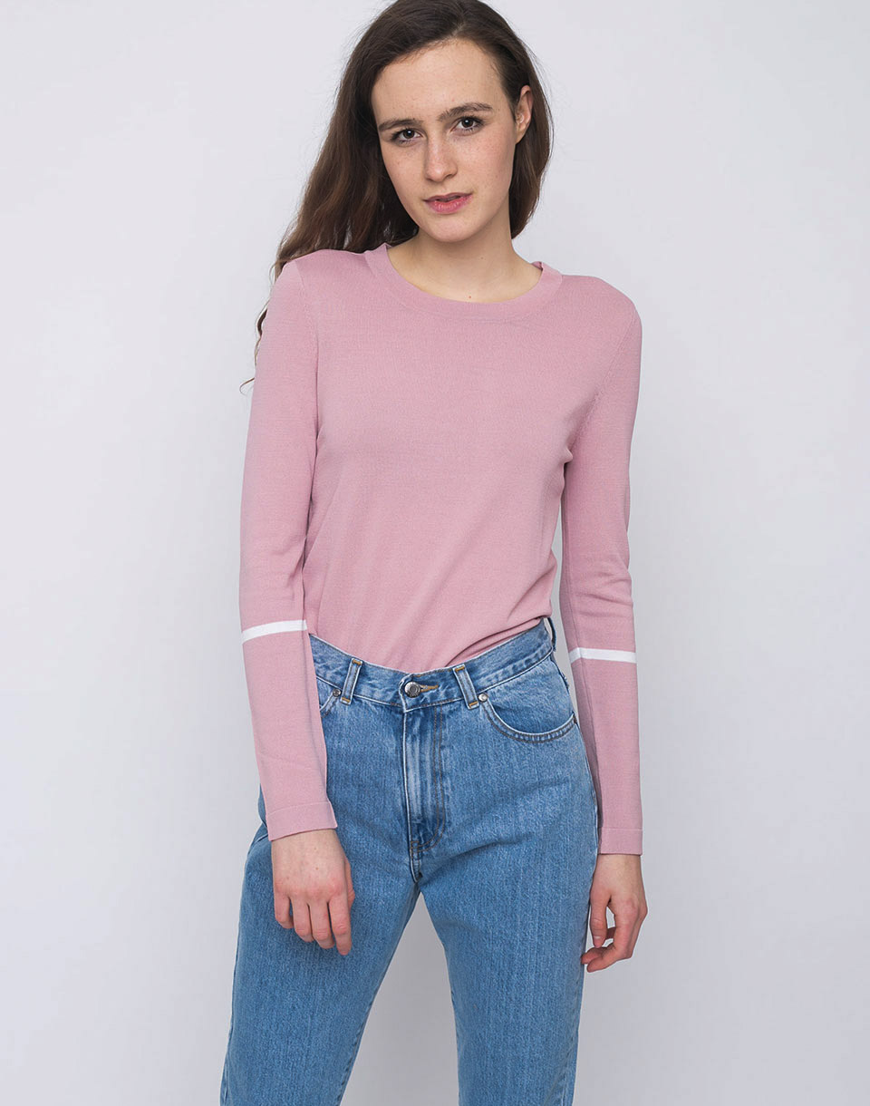 Dr  Denim Yana Hazy Pink M