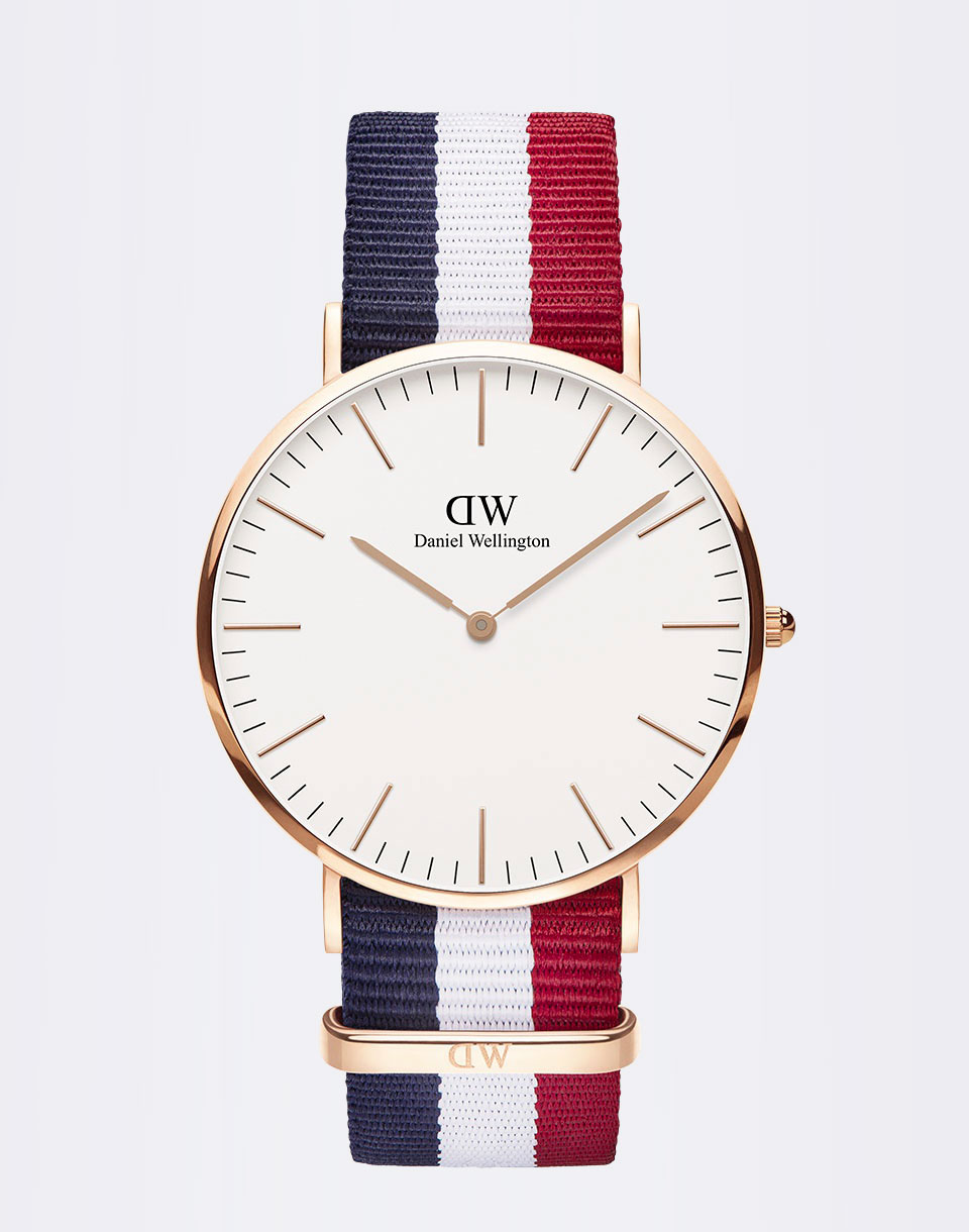Daniel Wellington H24-679 Cambridge Rose Gold
