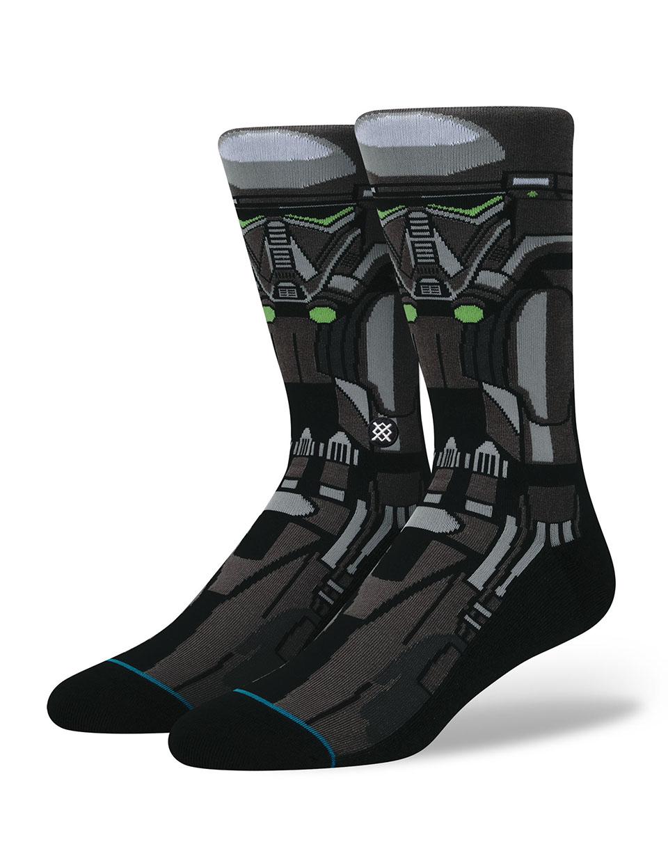 Ponožky Stance Star Wars Death Trooper Black 43-46