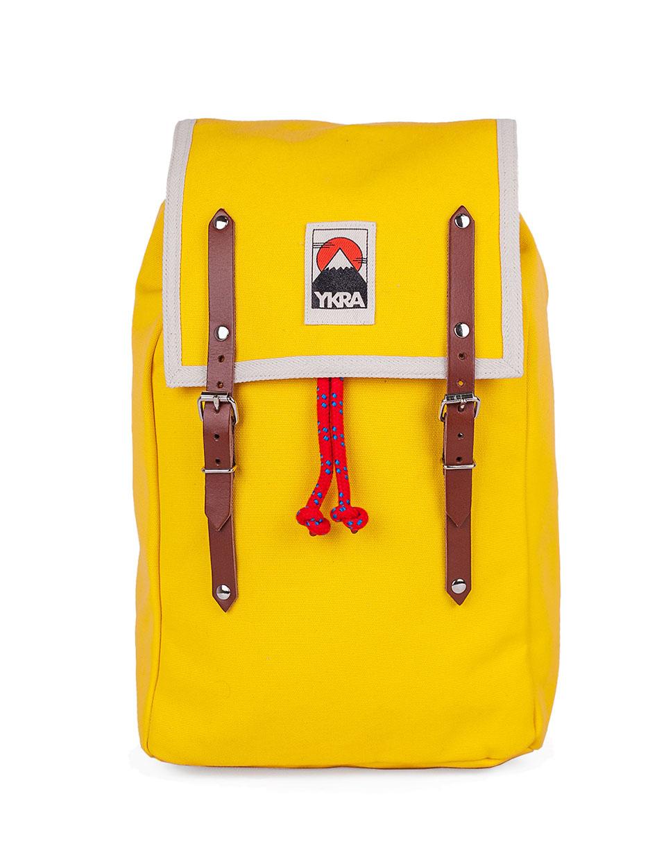 Batoh YKRA Matra Mini Cotton Straps Yellow